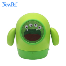 Bluetooth Speaker Cute Mini Wireless Deep Bass Doll Speakers Cartoon Subwoofer Speaker Support TF Card Children's Gift of NewPal