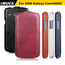 For Samsung Galaxy Core gt-i8262 case flip leather cover for samsung I8260 I8262 GT-I8262 8260 GT i8262 8262 imuca case cover
