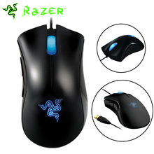 100% Original Razer Deathadder Mouse 3500dpi 3.5G Infrared Sensor Egonomic Right-handed Gaming Mouse Brand New One Year Warranty