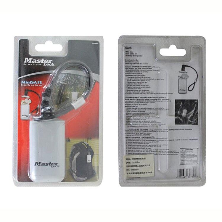 Mini Key Safe Box Outdoor Backpack Hanging Metal Hidden Password Lock Zinc alloy Fixed Code Lock Portable Key Storage Box (3)