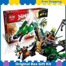 612016 Bela 10526 Ninja Green NRG Dragon Building Blocks Bricks Gits Kids Toys Compatible Lego - Cheery baby store