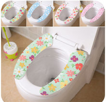 Toilet Seat Cover Soft WC Paste Toilet Seat Pad Bathroom Warmer Seat Lid Cover Pad Toilet Closestool Seat Cover