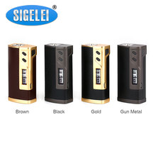 Buy Original Sigelei 213 TC Box MOD Max 213W Output Powered Dual 18650 Cells Sigelei 213 Mod Battery E-cigarette Vape Box Mod for $39.67 in AliExpress store
