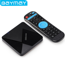 BAYMAY Dolamee D5 Android TV Box Quad Core Cortex A7 1.5GHz 32bit 2.4GHz WiFi 1GB 8GB HDMI 2.0 4K*2K 60Hz Media Player TV Box