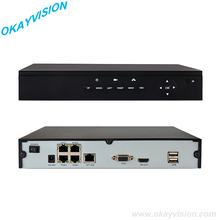 FULL HD 4CH P2P POE NVR Manufacturer Real Time Recording 4CH Support POE ONVIF NVR, H.264 1080P POE NVR(China)