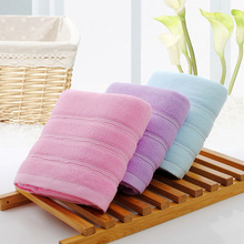 Size 140*70cm Brief Solid Bath Towel  100% Cotton Travel Towels Bathroom Towel toalla playa Large Sport Towels Home Hotel Use