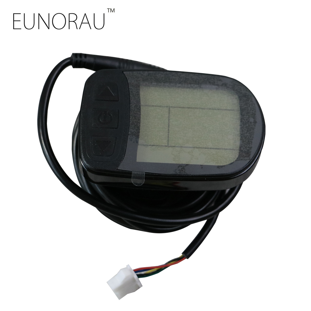 Free Shipping ebike 36V 48V intelligent KT LCD LCD5 klcd5 Control Panel Display Electric Bicycle bike Parts KT controller<br>