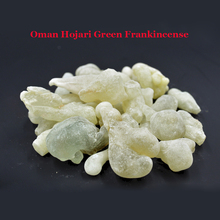 Organic Oman Frankincense Incense Hojari Green Frankincense Burned for Aroma Good for Health Resin Incense 10/20/30/50g W $(China)