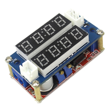 Free shipping 5A Constant Current/Voltage LED Driver Battery Charging Module Voltmeter Ammeter TK1210