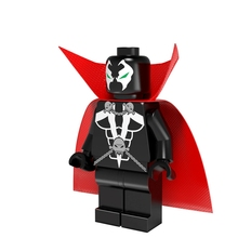 Spawn Super Heroes DIY Blocks Single Sale Image Comics  Malebolgia Models & Building Toys Blocks For Children