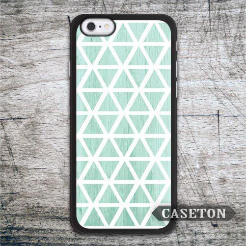 Green Mint Geometry font b Case b font For font b iPhone b font font b