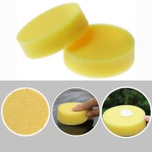 Auto Care 12-Pack 10cm Diameter Soft Microfiber Car Wax Applicator Pads Polishing Waxing Sponges Vehicle Glass Clean Supplies
