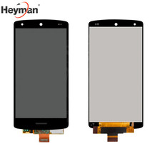 Heyman LCD display screen For LG D820,D821 Nexus 5 Google Cell Phones, (black, original (PRC), with touchscreen,with Logo)