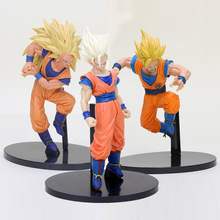 19cm Anime Dragon Ball Z Figure Super Saiyan Son Goku Budokai Tenkaichi PVC Action Figure Collectible Model Toy
