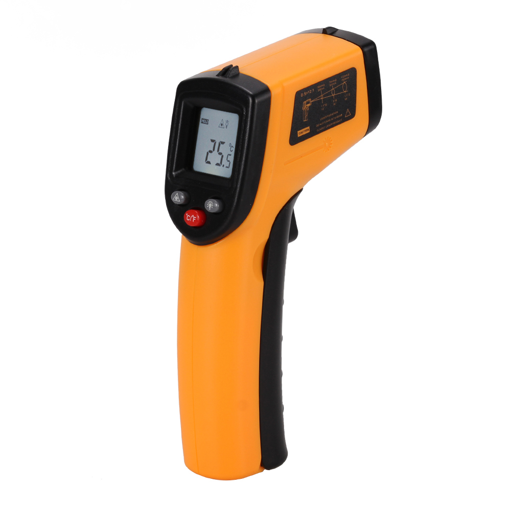 Non-Contact IR Infrared Thermometer LCD Display Digital Temperature Gun Handheld Temp Thermometer Laser High Accuracy<br><br>Aliexpress