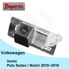FOR Volkswagen Vento / VW Polo Sedan / Notch 2010~2016 / HD CCD Reversing Back up Camera / Car Parking Camera / Rear View Camera(China)