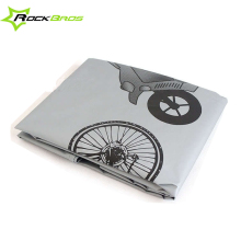 "ROCKBROS 26"" 29"" 29er Bike Cycle Bicycle MTB Waterproof Cover Protector Garage Multipurpose Rain Snow Dust Cover Gray/ White"