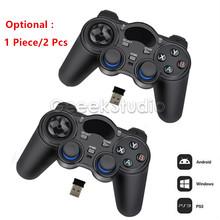 New 2.4GHz Wireless Gamepad Game Controller for PC, Raspberry Pi, RetroPie, Android Smart TV Box, Tablet PC, PS3