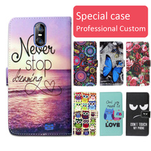 Buy Fashion cartoon printed flip wallet leather case HomTom S12 Card Slot phone bag book case,free gift for $3.98 in AliExpress store