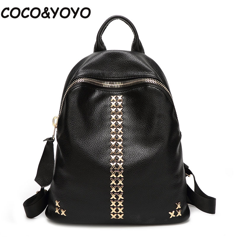2017 New fashion soild mini leather women backpack high quality preppy style  School Bags for Teenagers mochila masculina<br><br>Aliexpress