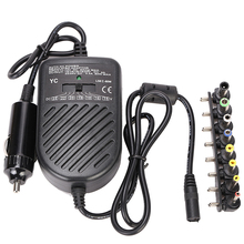 Universal DC 80W Car Auto Charger Power Supply Adapter Set For Laptop Notebook with 8 detachable plugs car styling(China)