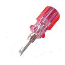 Multitool Phillips Flat Tip Torx Screwdriver For Diy Repair Tools Bit Holder Mini Bidirectional Interchangeable Head Screwdriver(China)