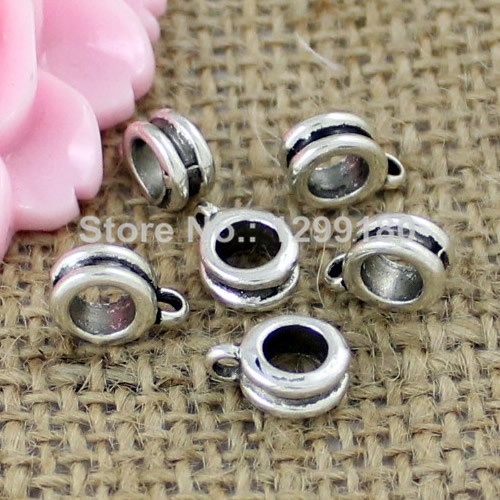 5Sets Antique Silver Gecko Pattern End Caps Hook Eye Clasp Fit 4mm Round Leather