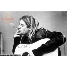 Best Nice Custom Kurt Cobain Poster Good Quality Wall Poster Home decoration Wall Sticker For Bedroom cd%33