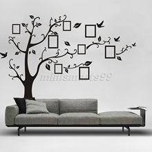 Buy Black 3D DIY Photo Tree Vinyl Wall Stickers Kids Baby Children Decor Home Wall Paper Decal Deco Art Sticker Home Decor for $6.99 in AliExpress store