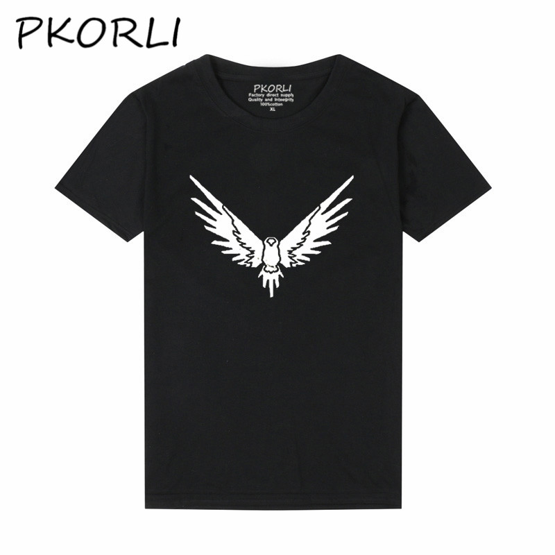 Pkorli Logang Logan Jake Paul Maverick T-Shirt Men Women Casual Short Sleeve Harajuku T Shirt Streetwear JP Maverick Bird Tees