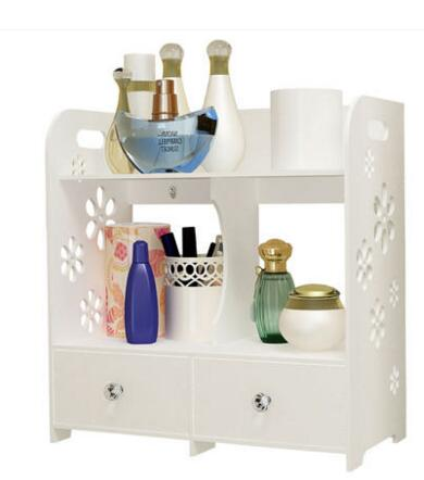 Cosmetics Shelves Bathrooms Dressers Finishing boxes Storage boxes Desktop jewelery boxes Drawer simple006<br>