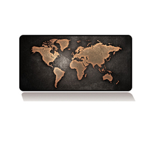 80*40cm Rubber Game world mouse mat pad World map mousepad gamer gaming computer Peripheral accessories laptop desk mats(China)