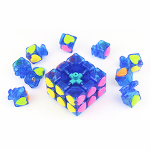 Love Cube Puzzle 3x3x3 Speed Cube Hand Spinner Fidget Toys Learning Brain Twist Puzzle Cube Anti Stress Cubo Magico 3x3x3 501528
