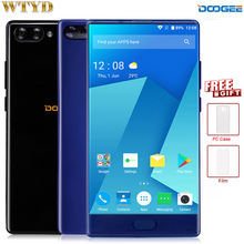 4G Smartphone Original DOOGEE MIX 4GB+64GB Dtouch Fingerprint Dual Back Camera 5.5'' AMOLED Screen Android7.0 Octa Core OTA GPS(China)