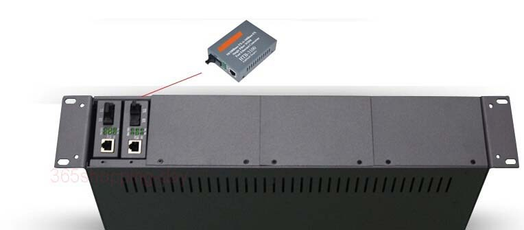 14 slots Media Converter Rack Optical Transceiver Rack(19 inch 2U)