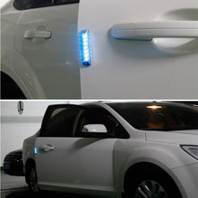 Solar 7 LED Car-styling Dashboard Lamp/Waterproof Warning Lights/Eliminate Static Electricity/Anti-collision Emergency Lightbars