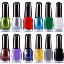 New Fashion 10ml 12 Colors Lot  Nail Art Stamp Stamping Polish Sweet Style For DIY Nail Polish Print Accessories Wholesale