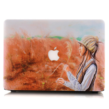 New Laptop Case Oil painting Shell for Apple Macbook Air/Retina/Pro 11 12 13 15 Laptop Sleeve 13.3 11.6 15.4 Notebook Computer