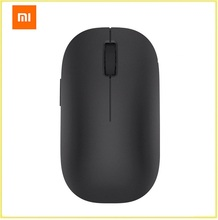 Original Xiaomi MI Portable Mouse Remote Wireless Optical Bluetooth 4.0 RF 2.4GHz Dual Mode Connect Computer Windows 7/8/10