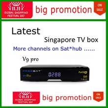 1212 on sale 2pcs freesat v9 pro singapore starhub mio hbo football horserace soccer replace of icam server(China)