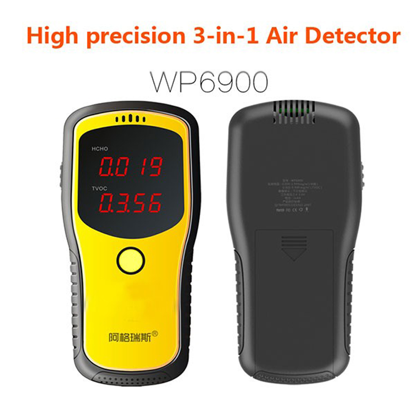 Toluene TVOC detector Formaldehyde testing instruments Determination  formaldehyde indoor air quality Protection pregnant women<br><br>Aliexpress