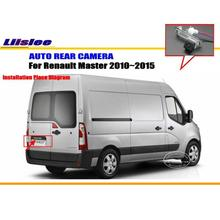 Car Rear View Camera For Renault Master 2010~2015 / Reverse Camera / HD CCD RCA NTST PAL / License Plate Lamp OEM