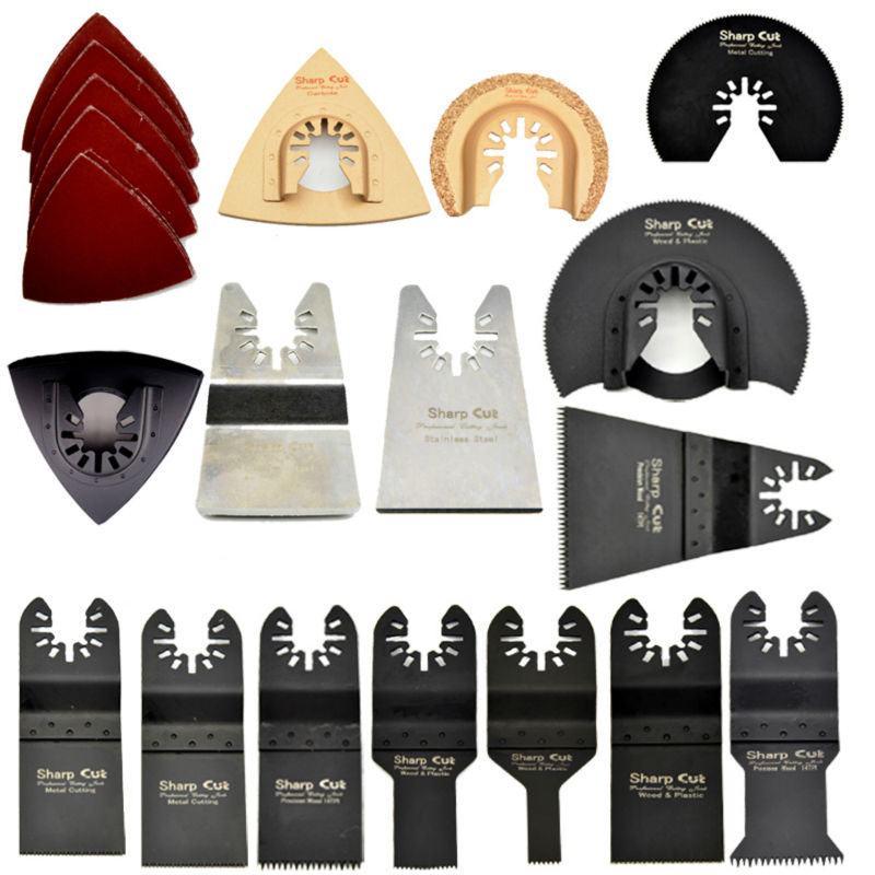 20%OFF! 40pcs Kit Oscillating Multitools Saw Blades Accessories fit for Multimaster power tool as Fein,Dremel,AGE,Bosch etc<br><br>Aliexpress