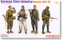 1/35 scale model Dragon 6707 German elite infantry Soviet Union 1941-43(China)