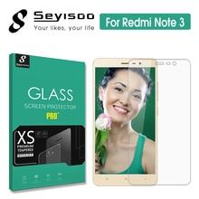 100% Original Seyisoo Screen Protector Tempered Glass Xiaomi Redmi Note 3 Note3 Pro Prime Xiomi 2.5D 0.3mm Toughened Film