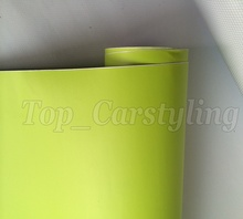 1.52x5m/roll High Quality Matt Pale Green Vinyl Sticker Foil Car Wrapping Vinyl Roll Bubble Free Grade(China)