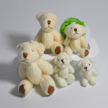 Bulk 3.5cm  4cm  4.5cm  6cm  7.5cm  8cm Plush Teddy Bear Mini Soft Toys Jewel Craft/baby Shower Gift