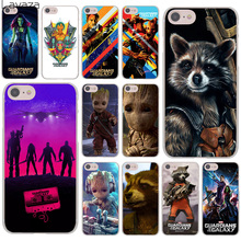 Buy Guardians Galaxy Marvel groot rocket Hard Cover Case Apple iPhone 7 7 Plus 6 6S Plus 5 5S SE 5C 4 4S Coque Shell for $1.80 in AliExpress store