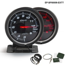 BF 60mm LED Exhaust Gas Temp EXT Gauge Auto Car Motor Gauge with Red & White Light For VW GOLF 5 EP-BF60009-EXTT(China)
