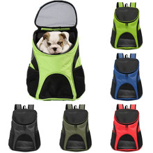 MLITDIS 34*30*24cm Colorful Backpack Dog Cat Double Shoulder Bags Pet Travel Outdoor Carrier With Mesh Windows Small Pets Carry